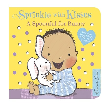 by Emma Dodd - Sprinkle With Kisses: Spoonful for Bunny Baby Board Book