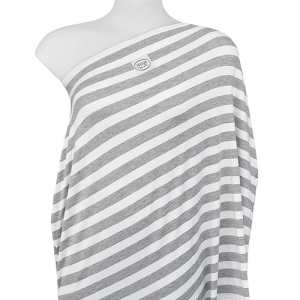 HUSH Baby - All In One Baby Cover (Classic Grey Stripe) - Gift for New Mum