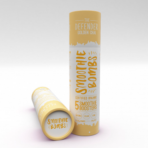 The Smoothie Bombs - 'The Defender' Golden Chai Tube