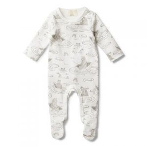 Wilson + Frenchy - 'Little Row Boat' Growsuit With Feet