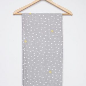 Hey Baby - Swaddle Wrap 'Dotty Steel'