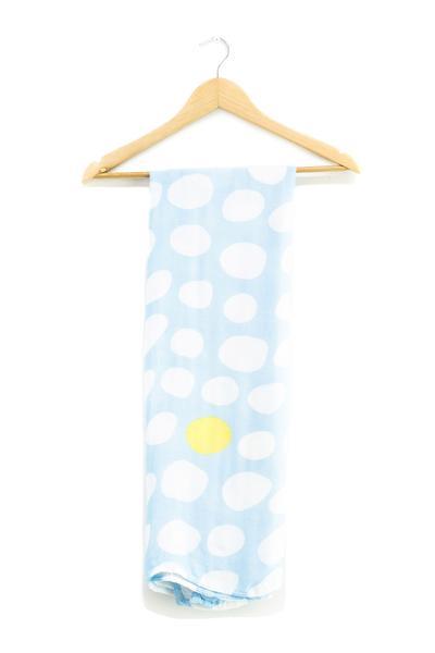 Hey Baby - Swaddle Wrap 'Egg Skye'