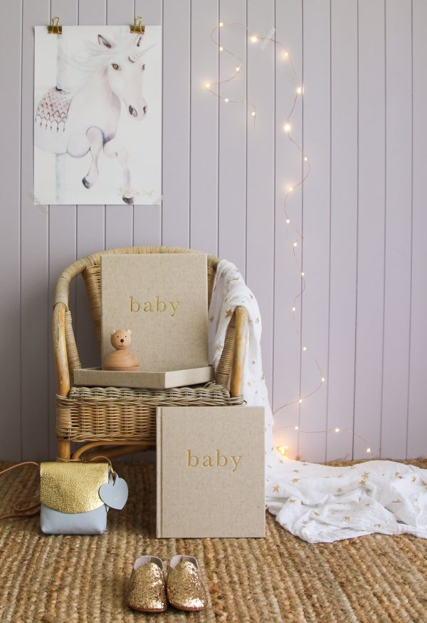 Write To Me | Baby - THE FIRST YEAR OF YOU | Boxed Journal - PREORDER SHIPPING END MAY
