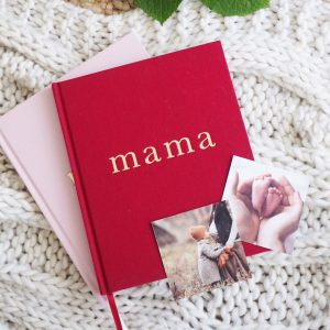 Write To Me - Mama - Tell Me About It 'Maroon'