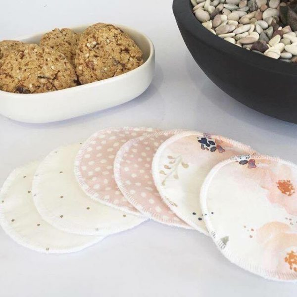 Miss Mae Studio - Set of 3 Reusable Nursing Pads (Random Mix)