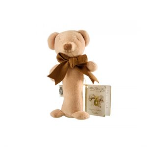 Maud N Lil - Baby Gift Stick Rattle (Organic) – Cubby The Teddy Bear
