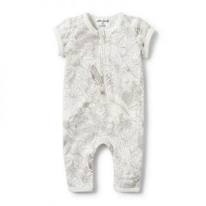 Wilson & Frenchy | Peekaboo Short Sleeve Zipsuit