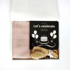 'Let's Celebrate Baby in Blush'