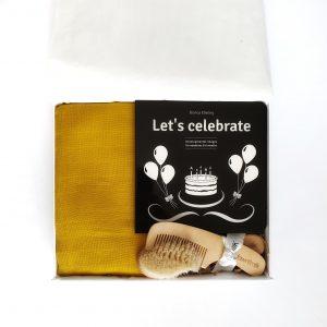'Let's Celebrate Baby in Mustard'