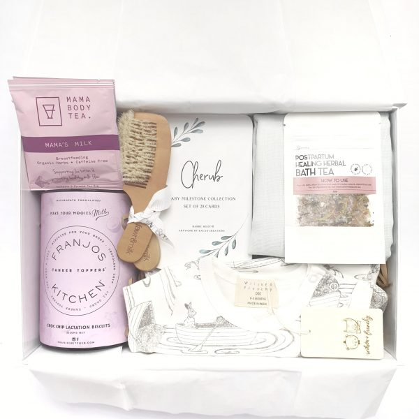 'Baby Shower - Milestones' Gift Hamper for the Nursing Mum and Baby