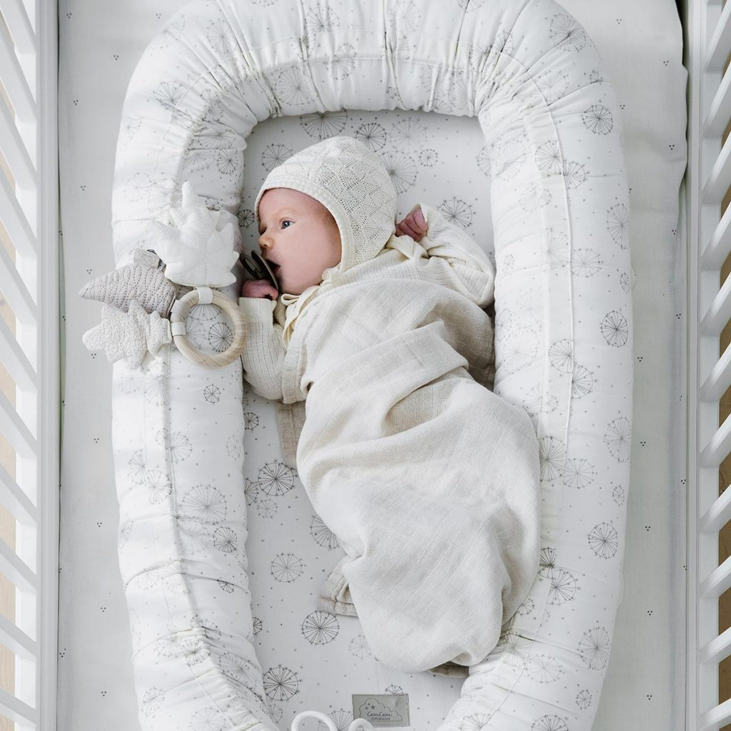 CAM CAM Baby Nest Dandelion Natural baby