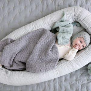 CAM CAM Baby Nest Grey Wave baby