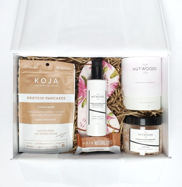 Rejuvenate with Scents of Champagne + Strawberries - Mother's Day Hamper