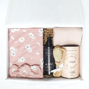 'The Daisy Baby Shower' Hamper for Nursing Mum + Baby