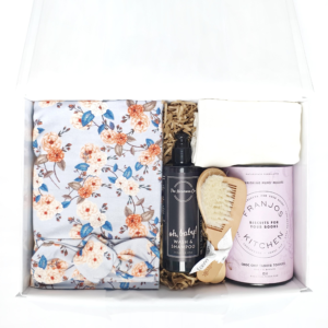 'The Vintage Floral Baby Shower' Hamper for Nursing Mum + Baby