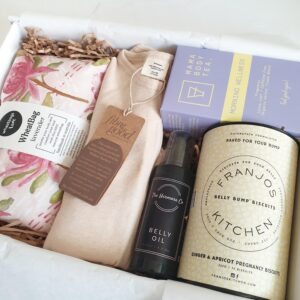 mum-to-be and baby hamper